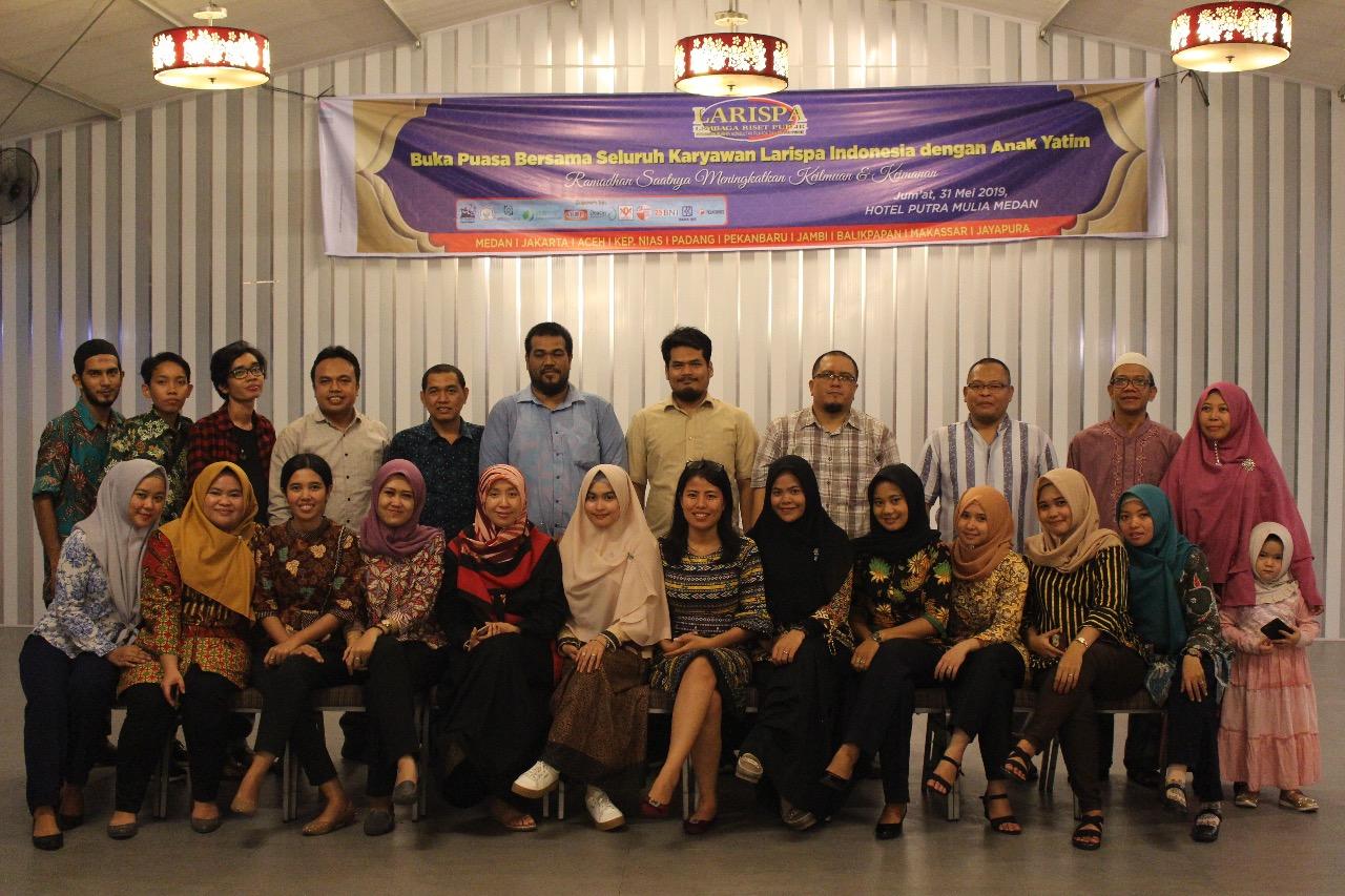 Larispa Indonesia Lakukan Upgrading dan Coaching Clinic Guna Tingkatkan Kemampuan Konsultan Pendidikan