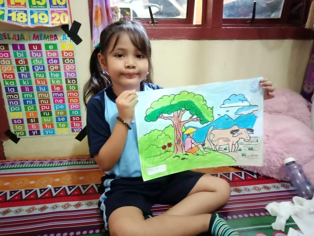 Peringati Hari Kartini, Lomba Mewarnai secara Daring