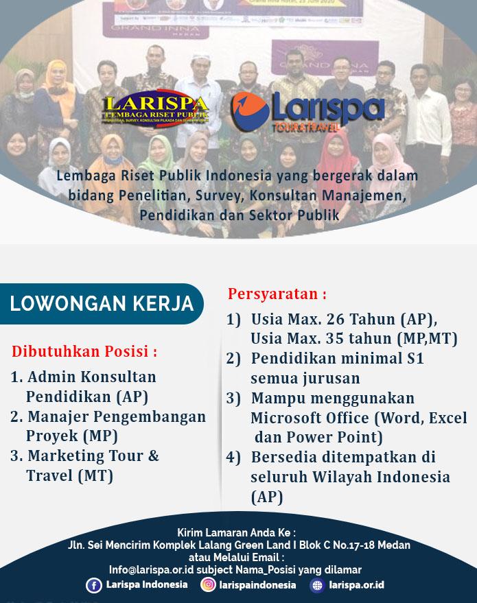 Lowongan Kerja Larispa Indonesia