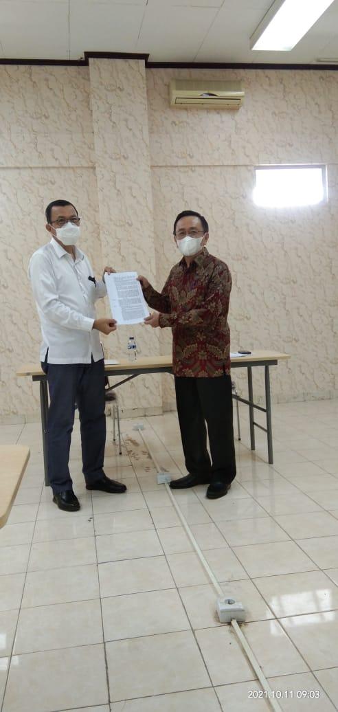 Universitas Nias Resmi Menerima SK Mendikbud Ristek